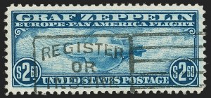 Sale Number 1192, Lot Number 692, Air Post, Graf Zeppelin Issue (Scott C13-C15)$2.60 Graf Zeppelin (C15), $2.60 Graf Zeppelin (C15)
