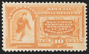 Sale Number 1192, Lot Number 713, Special Delivery10c Orange, Special Delivery (E3), 10c Orange, Special Delivery (E3)