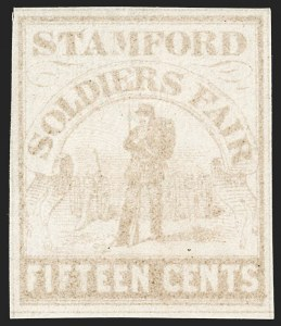 Sale Number 1192, Lot Number 790, RevenuesSoldier's Fair, Stamford Conn., 15c Pale Brown (WV15), Soldier's Fair, Stamford Conn., 15c Pale Brown (WV15)