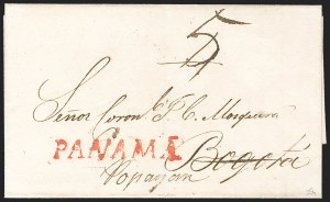 "Sale Number 1193, Lot Number 1511, New Granada & Grenadine Confederation - PanamaPANAMA, Undated ""PANAMA"", PANAMA, Undated ""PANAMA"""