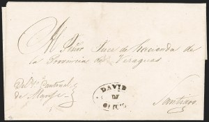"Sale Number 1193, Lot Number 1533, New Granada & Grenadine Confederation - Veragua & DavidPANAMA, 1847 ""DAVID DE OFICIO"", PANAMA, 1847 ""DAVID DE OFICIO"""