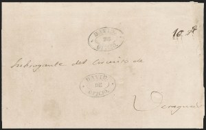 "Sale Number 1193, Lot Number 1534, New Granada & Grenadine Confederation - Veragua & DavidPANAMA, 1850 ""DAVID DE OFICIO"", PANAMA, 1850 ""DAVID DE OFICIO"""