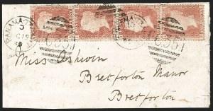 "Sale Number 1193, Lot Number 1566, Great Britain Stamps Used in Panama - ""C35""BRITISH POSTAL AGENCY, Panama, 1880, 1p Rose Red (A84; SG Z72), BRITISH POSTAL AGENCY, Panama, 1880, 1p Rose Red (A84; SG Z72)"