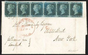 Sale Number 1194, Lot Number 2003, Great BritainGREAT BRITAIN, 1841, 2p Blue (4; SG 14), GREAT BRITAIN, 1841, 2p Blue (4; SG 14)