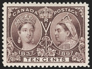 Sale Number 1194, Lot Number 2150, CanadaCANADA, 1897, 10c Jubilee (57), CANADA, 1897, 10c Jubilee (57)