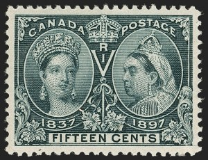 Sale Number 1194, Lot Number 2151, CanadaCANADA, 1897, 15c Jubilee (58), CANADA, 1897, 15c Jubilee (58)