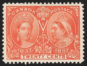 Sale Number 1194, Lot Number 2152, CanadaCANADA, 1897, 20c Jubilee (59), CANADA, 1897, 20c Jubilee (59)
