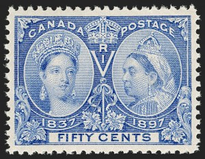 Sale Number 1194, Lot Number 2153, CanadaCANADA, 1897, 50c Jubilee (60), CANADA, 1897, 50c Jubilee (60)