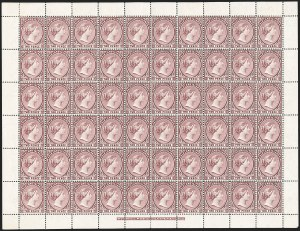 Sale Number 1194, Lot Number 2253, Falkland Islands thru GibraltarFALKLAND ISLANDS, 1896, 2p Magenta (13; SG 25), FALKLAND ISLANDS, 1896, 2p Magenta (13; SG 25)