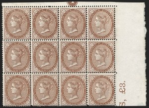 Sale Number 1194, Lot Number 2305, Ireland thru KuwaitJAMAICA, 1860, 1sh Yellow Brown (6b; SG 6), JAMAICA, 1860, 1sh Yellow Brown (6b; SG 6)