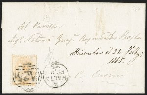 Sale Number 1194, Lot Number 2420, Malta thru MontserratMALTA, 1864, -1/2p Bright Orange (3d; SG 5), MALTA, 1864, -1/2p Bright Orange (3d; SG 5)