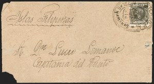 Sale Number 1194, Lot Number 2623, Liechtenstein thru Mariana IslandsMARIANA ISLANDS, 1899, 15c Dull Olive Green (6), MARIANA ISLANDS, 1899, 15c Dull Olive Green (6)