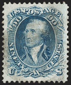 Sale Number 1195, Lot Number 105, 1861-66 Issue Stamps1c-90c 1861-66 Issue (63/72), 1c-90c 1861-66 Issue (63/72)