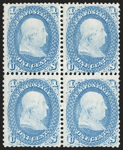 Sale Number 1195, Lot Number 106, 1861-66 Issue Stamps1c Blue (63), 1c Blue (63)