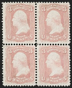 Sale Number 1195, Lot Number 116, 1861-66 Issue Stamps3c Rose Pink (64b), 3c Rose Pink (64b)