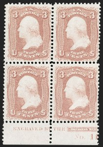 Sale Number 1195, Lot Number 118, 1861-66 Issue Stamps3c Rose (65), 3c Rose (65)