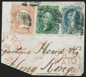 Sale Number 1195, Lot Number 157, 1861-66 Issue Stamps, cont.90c Blue (72), 90c Blue (72)