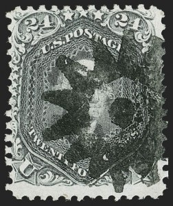 Sale Number 1195, Lot Number 179, 1861-66 Issue Stamps, cont.24c Blackish Violet (78c), 24c Blackish Violet (78c)