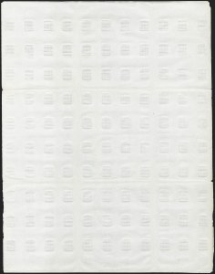 Sale Number 1195, Lot Number 306, Essays for Re-Use Prevention: Later Grill EssaysNational Bank Note Co., H. Grill Essay, Points Down, Imperforate (unlisted in Scott, 136P5 var), National Bank Note Co., H. Grill Essay, Points Down, Imperforate (unlisted in Scott, 136P5 var)