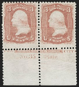Sale Number 1195, Lot Number 356, 1867-68 Grilled Issue: Z Grill3c Rose, Z. Grill (85C), 3c Rose, Z. Grill (85C)