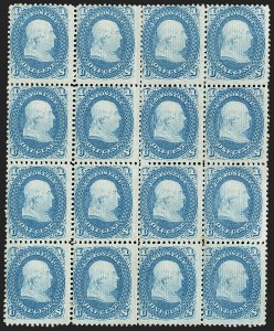 Sale Number 1195, Lot Number 363, 1867-68 Grilled Issue: E Grill1c Blue, E. Grill (86), 1c Blue, E. Grill (86)