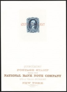 Sale Number 1195, Lot Number 72, Essays and Proofs: Presentation Large Die Die Proofs,