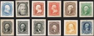 Sale Number 1195, Lot Number 75, Essays and Proofs: Small Die Proofs1c-90c 1861-66 Issue, Panama-Pacific Small Die Proofs on Wove (57P2a/77P2a), 1c-90c 1861-66 Issue, Panama-Pacific Small Die Proofs on Wove (57P2a/77P2a)