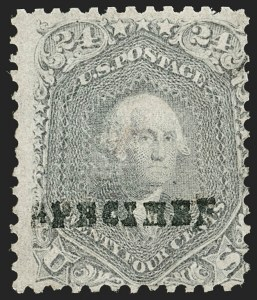 Sale Number 1195, Lot Number 87, Specimens24c Gray Lilac, F. Grill, Specimen Overprint Ty. H (99S-H), 24c Gray Lilac, F. Grill, Specimen Overprint Ty. H (99S-H)