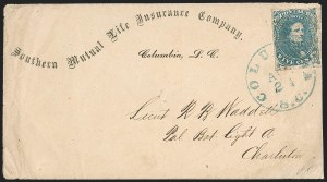 Sale Number 1196, Lot Number 1007, Confederate States: General Issues5c Blue, Stone 2 (4), 5c Blue, Stone 2 (4)
