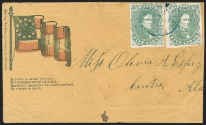 Sale Number 1196, Lot Number 1012, Confederate States: General Issues5c Green, Stone 1-2 (1), 5c Green, Stone 1-2 (1)