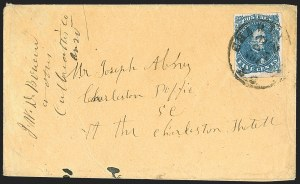 Sale Number 1196, Lot Number 1015, Confederate States: General Issues5c Blue, Stone 2 (4), 5c Blue, Stone 2 (4)