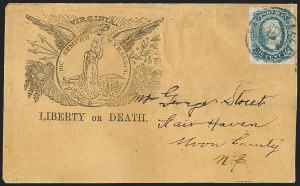 Sale Number 1196, Lot Number 1028, Confederate States: General Issues10c Blue, Die A (11), 10c Blue, Die A (11)