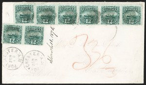Sale Number 1196, Lot Number 1165, South America12c Green (117), 12c Green (117)