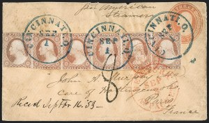 Sale Number 1196, Lot Number 1210, France (including Algeria and Corsica)3c Dull Red, Ty. II (11A), 3c Dull Red, Ty. II (11A)