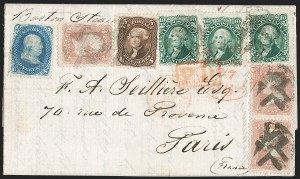 Sale Number 1196, Lot Number 1223, France (including Algeria and Corsica)5c Brown (76), 5c Brown (76)