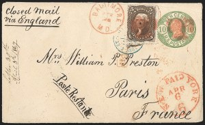 Sale Number 1196, Lot Number 1227, France (including Algeria and Corsica)5c Brown, F. Grill (95), 5c Brown, F. Grill (95)
