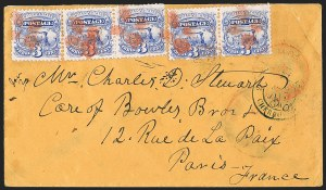 Sale Number 1196, Lot Number 1229, France (including Algeria and Corsica)3c Ultramarine (114), 3c Ultramarine (114)