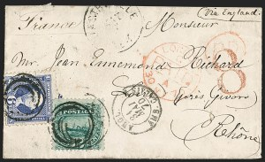 Sale Number 1196, Lot Number 1237, France (including Algeria and Corsica)12c Green (117), 12c Green (117)
