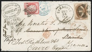 Sale Number 1196, Lot Number 1247, France (including Algeria and Corsica)10c Brown (161), 10c Brown (161)