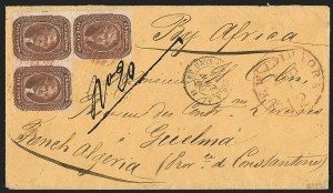 Sale Number 1196, Lot Number 1251, France (including Algeria and Corsica)5c Brown, Ty. II (30A), 5c Brown, Ty. II (30A)