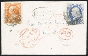 Sale Number 1196, Lot Number 1262, Spain and Portugal15c Bright Orange (152), 15c Bright Orange (152)