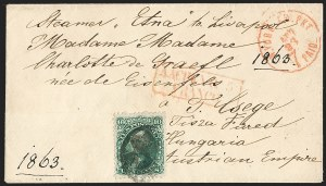 Sale Number 1196, Lot Number 1267, Austria, Hungary, Romania and Bulgaria10c Yellow Green (68), 10c Yellow Green (68)