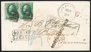 Sale Number 1196, Lot Number 1271, Austria, Hungary, Romania and Bulgaria3c Green (158), 3c Green (158)