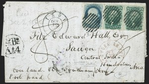 Sale Number 1196, Lot Number 1414, India and Afghanistan10c Green, Ty. V (35), 10c Green, Ty. V (35)