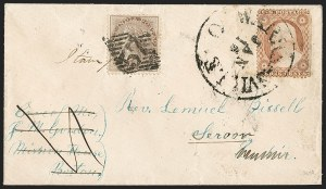 Sale Number 1196, Lot Number 1415, India and Afghanistan3c Dull Red, Ty. II (26), 3c Dull Red, Ty. II (26)