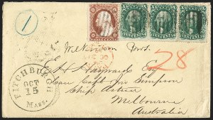 Sale Number 1196, Lot Number 1431, Australian States10c Green, Ty. I (31), 10c Green, Ty. I (31)