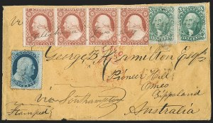 Sale Number 1196, Lot Number 1432, Australian States10c Green, Ty. I (31), 10c Green, Ty. I (31)