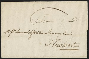 Sale Number 1196, Lot Number 514, Colonial & 19th Century1770, Tortola to Newport, 1770, Tortola to Newport