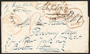 Sale Number 1196, Lot Number 536, Ship Mail from 1800,