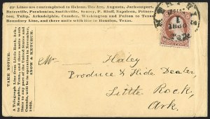 Sale Number 1196, Lot Number 583, Railroads & TelegraphsPine Bluff Telegraph Co, Pine Bluff Telegraph Co